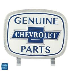 Chevy Ii Genuine Chevrolet Parts Wall Hook Tin Man Cave 8 X 9