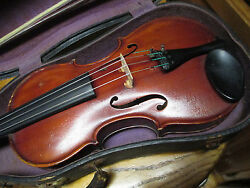 Northern Germany Or French Possible Saxony 4 / 4 Violin