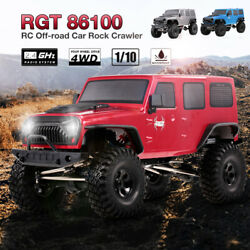 RGT 86100 110 2.4G 4WD RC Rock Crawler Off-road Monsters Truck Climbing Car Sur