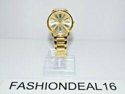 New Guess Authentic Women's Kennedy Gold Tone W1149l2 41mm Watch