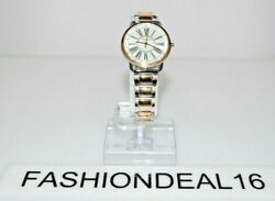 New Guess Authentic Women's Kennedy Small Two Tone W1148l4 34mm Watch