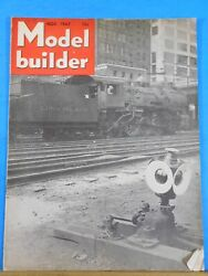 Model Builder 1947 November Lionel Magazine Middletown And Unionville Western Town