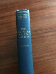 The Red River Valley 1811-1849 Signed By Author John Pritchitt