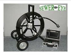 Battery Powered/ac Dvr Sewereye Sewer Camera Pipe Video Inspection Camera System