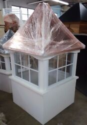 42and039and039 Vinyl Window Cupola/beautiful And High Quality Ships Fast