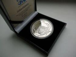 South Africa 50 Cent 2001, Wildlife Series, African Buffalo, Proof Silver Coin