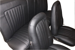 Valiant Vj Charger Automotive Leather Seat Skins Trim Kit Front And Rear