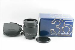 [Mint] Contax Carl Zeiss Distagon T* 35mm F1.4 MMJ Lens for CY Mount (1036-K55)