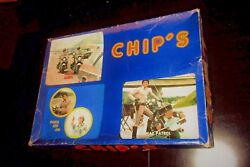 Unique Vintage Greek Boardgame- Chips - John And Ponch Police Tv Show From 70s