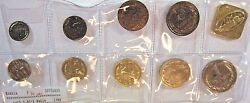 1988 Russia 9 Piece Coin Set Choice With Medallion  Free U.s Shipping