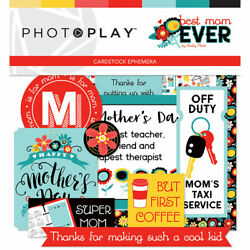 Scrapbooking Crafts Die Cuts Best Mom Ever Super M Keys Taxi Motherand039s Day Team
