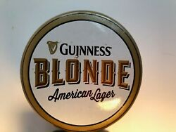 Beer Tap Handle Guinness Blonde American Lager The Discovery Series No 1