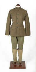 Wwi Us Army Uniforms Original Jacket Trousers And Spats