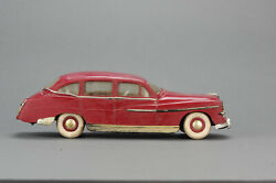 Antique Tin Toy 1950and039s Gege France Ford Vedette Electrique Plastic And Tin