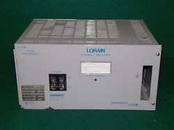 Lorain A50f50 58vdc 50a 1ph High Frequency Rectifier   Spec 5438-012