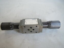 TRAUB MANNESMANN REXROTH THROTTLE CHECK VALVE Z2FS 6-7-412QV LOT# TRAUB-36 REMI