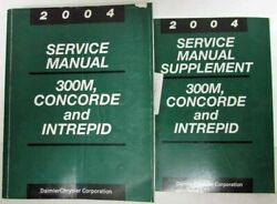 2004 Chrysler 300M/Concorde and Dodge Intrepid Service Shop Repair Manual