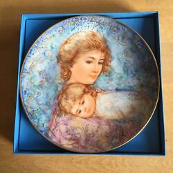 Edna Hibel Mother's Day - Set Of 8 China Collector Plates