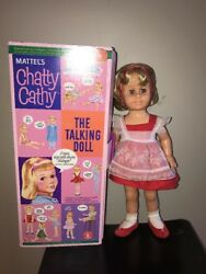 Mattel Chatty Cathy Talking Doll 1998 Re-issue Of 1960