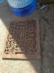 Antique Victorian Grate 13andtimes11 Heating Vent Register