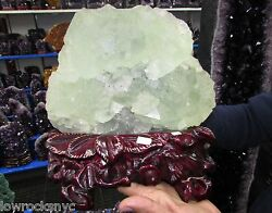 FASCINATING COLOR FLUORITE Mineral 7.5 Kgs = 16Lbs * COLLECTOR PIECE *