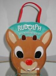 Rare- Carlton Rudolph Red Nosed Reindeer Ornament 3 Piece Set New 2003