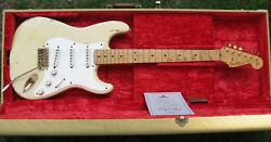 1996 Fender Custom Shop Relic Cunetto Mary Kaye See-thru Blonde Strat