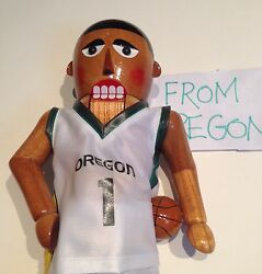Oregon Ducks Basketball Nutcracker Rare New In Box Look At Pics Only 500 Made