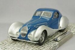 Minichamps 107117122 Talbot Lago T150-c-ss Coupe 1937 Blue Silver 1/18 New