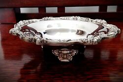 Antique/vintage Quality Towle Silverplate Footed Bowl - 6 1/2 Diameter