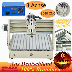 3AXIS 3040 Router Engraver Mill & Drill Machine Engraving 400W 3D Cutter Desktop