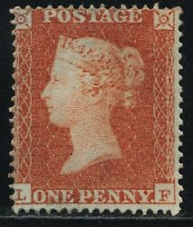 1850 Penny Red Sg16b Spec Ce2 Archer Plate 100 Lf P16 Sc Mounted Mint