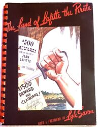 Vintage The Land Of Lafitte The Pirate-thompson,ray M 1943 Signed Collectible