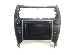 2013 Toyota Camry Radio Touch Screen Display Climate Control OEM 86140-06011