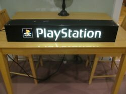 Sony Playstation Store Sign Full Size Promo Sign With Lights Heavy Duty Sale