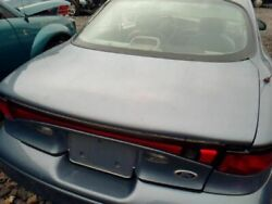 Trunk/Hatch/Tailgate Coupe ZX2 Without Spoiler Fits 98-99 ESCORT 11567963