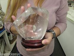 Translucent Healing Crystal Point 1.850 Kgs / 4 Lbs Free Shipping