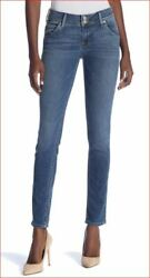 new HUDSON women jeans NWA422ZBA Collin skinny blue designed in LA W24 MSRP $189