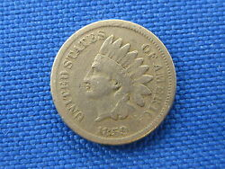 1859 U.s Indian Head Cent Coin Us Penny
