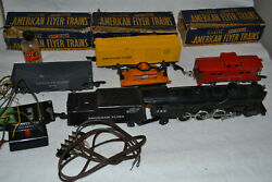 Gilbert American Flyer 282 Chicago Loco Tender Parts Two Man Hand Car Caboose +