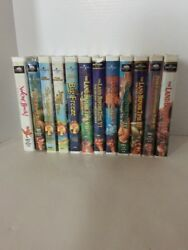 The Land Before Time 1-10 + Sing Along Songs, And We're Back Dinosaur Vhs Lot