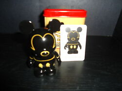 Disney 3 Vinylmation 2009 D23 Expo Exclusive Figure With Tin And Card