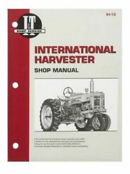 Shop Manual Fits International Harvester 300 350 400 450 W400 W450 Tractor