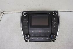 16 17 Toyota Camry AM/FM/CD RADIO + CLIMATE CONTROL 86140-06680 55900-06320