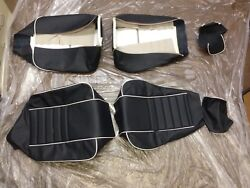 Rolls Royce Corniche Front Leather Seat Covers 79-84 H