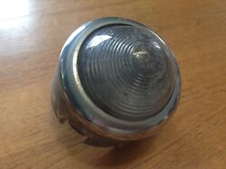 Vintage Guide Backup Lamp Early Auto Reverse Light Guide F-19 Glass Lens Gmc