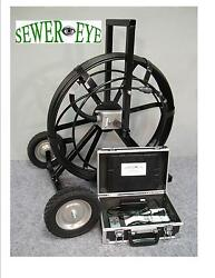 Battery Powered Or Ac Sewereye Sewer Camera Pipe Video Inspection Camera System