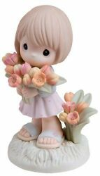2007 Precious Moments You Color My World With Your Love Girl 740002 - Mib