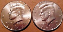 2006-p And 2006-d Kennedy Half Dollar 20 Coin Rolls 1 Of Each