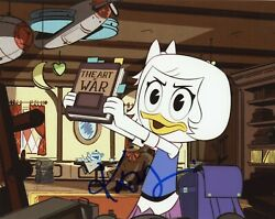 Kate Micucci Authentic Hand-signed Ducktales 2017 Webbigail 8x10 Photo B